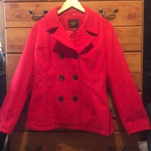 Jackets & Blazers - Celebrity Pink Pea Coat